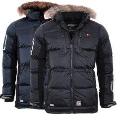 Geographical Norway Herren SEHR WARM Winter Jacke Parka steppjacke Mantel anorak | eBay