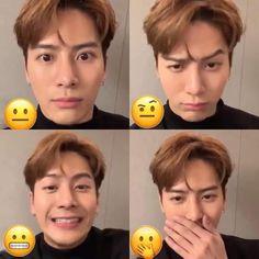 Youngjae, Bambam, Kim Yugyeom, Jackson Wang, Mark Jackson, Got7 Jackson, Got7 Meme, Got7 Funny, Jinyoung