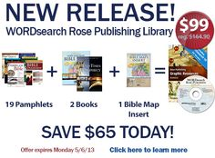 Discounts coupon codes and deals for rose publishing books and get this amazing deal on our new wordsearch rose publishing library coupon codesrosebooks fandeluxe Gallery