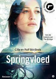 Swedish thriller Springfloden (Springvloed) Dutch dvd box.