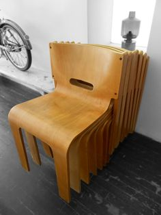 Muller & Stewart Bent Ply Chairs