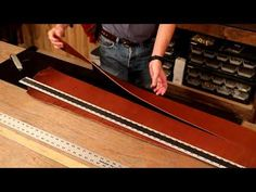 The Leather Element: Cutting Clean Edges - YouTube