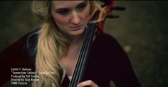 """""""Summertime Sadness"""" by Lana Del Rey -Caitlin T. Delaney Cello Cover//// Her hair is soo pretty."""