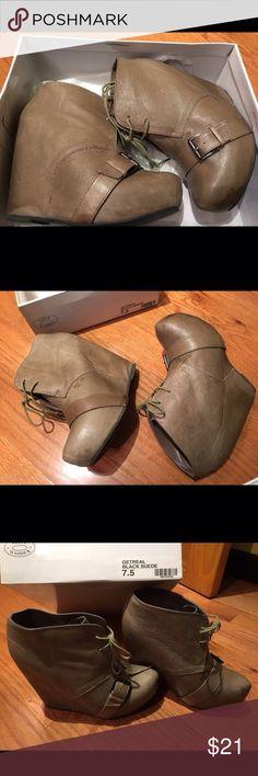 Steve Madden Platform Boots Nude Steve Madden ALVA Platform Booties Steve Madden Shoes Ankle Boots & Booties
