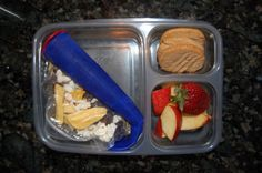 Real Food School Lunches -- This is part III in the series (check out I and II as well, linked in the second paragraph). Good suggestions as well as encouragement to get organized about what the young'un eats.