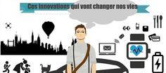 Infographie : 30 innovations et inventions qui vont changer nos vies !  Plus de découvertes sur Le Blog Domotique.fr #domotique #smarthome #homeautomation