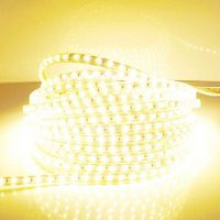 LED Strip Light 5050 Waterproof IP67 AC 220V LED Light Strip 60leds/m 5050SMD LED Strip Light With Power Plug LED Lights