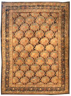 Large Antique Bidjar Rug (size adjusted) BB3931 by Doris Leslie Blau