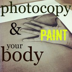 Artistic Invitation to Play from mamascout: exploration lab :: photocopy your body - this one would have to be combined with an earlier trip to the copy shop! Projects For Kids, Crafts For Kids, Art Projects, Summer Crafts, Preschool Crafts, Family Fun Night, Art Classroom, Classroom Ideas, Art School