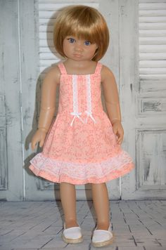 Dress for Kidz n Cats doll . by Symidollsclothes on Etsy, $18.00