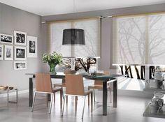 Projektujemy i szyjemy dekoracje okienne na indywidualne zamówienie. Zapraszamy do ShowRoom Częstochowa UL. Rejtana 25/35 tel. 609114338 Kitchen Dining, Dining Table, Home Decor Online, Curtain Rods, Luxury Furniture, Showroom, Minimalist, Flooring, Rustic