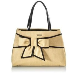 kate spade New York Rumor Straw Bow Tote