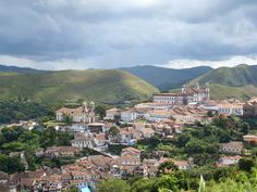The historical city of Mariana, in the state of Minas Gerais