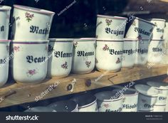 Coffee Mugs Behind Shop Window Stock Photo (Edit Now) 718801510 Healthy Filling Snacks, Yummy Snacks, Dinner Recipes For Kids, Kids Meals, Jewelry Booth, Creative Kids Snacks, Pear Smoothie, Shop Organization, No Dairy Recipes