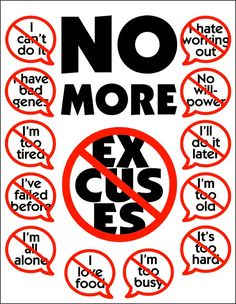 No more excuses with exercise motivation
