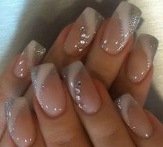 French Tip Nail Designs, Elegant Nail Designs, Colorful Nail Designs, Nail Art Designs, Classy Nails, Stylish Nails, Cute Nails, Long Square Acrylic Nails, Best Acrylic Nails