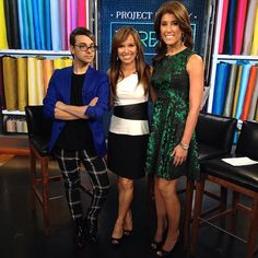 Great to have the very busy Christian Siriano  back in studio 3C to chat about his latest role, as judge on @lifetimetv's #projectrunwaythreads, which premieres tonight! Will you be tuning in? #newyorklivetv #lifetime  @csiriano