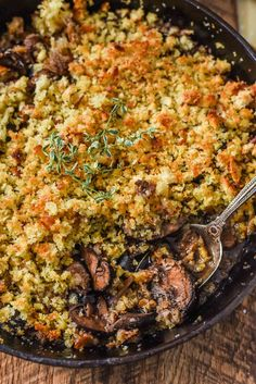 Baked Mushrooms soaked in red wine and butter and covered in parmesan ...