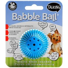 Talking Babble Ball SMALL 2 1/8' *** Click on the image for additional details. (This is an affiliate link and I receive a commission for the sales)