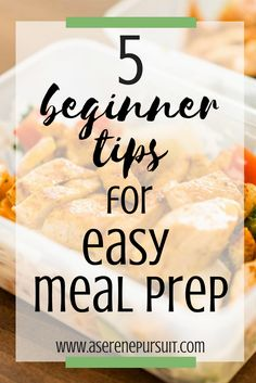 Want to start meal prepping but don't know where to start? After 2 years of meal prep, these are my personal top favorite beginner tips for easy meal prep! Click through to read & get started on healthy meal prep for the week!