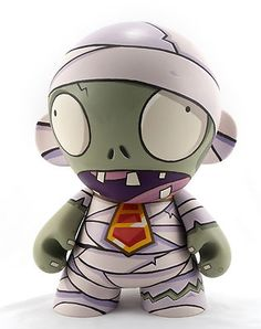 PopCapMunny - Mummy Munny by David Ryan Paul