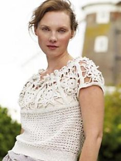 Ravelry: Project Gallery for Chantilly pattern by Marie Wallin