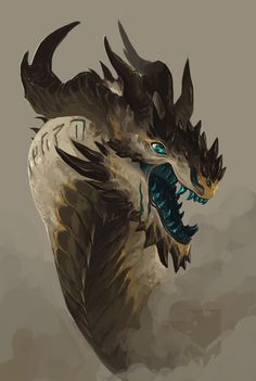 """cheskamouse: """" krishnath: """" cheskamouse: """"Imagine being a Half-Dragon or Dragonborn from one of these… """" Or a kobold descendant from one. I was thinking about a Kobold D&D character. Manga Dragon, Dragon Art, Magical Creatures, Fantasy Creatures, Fantasy Dragon, Fantasy Art, Dragon Oriental, Cool Dragons, Illustration"""