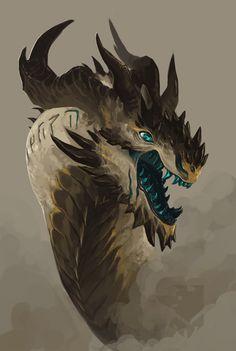 Mineral Dragons by Pythosblaze artist on tumblr