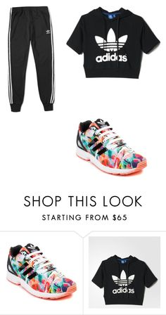 """""""Untitled #8"""" by dymin0403 ❤ liked on Polyvore featuring adidas"""