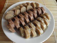 Domácí chalva Pavlova, Lchf, Sweet Recipes, Sausage, Paleo, Meat, Food, Fitness, Sausages
