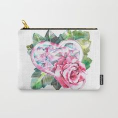 Every Rose in the Garden / Carry-All Pouch / $14