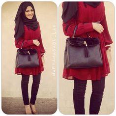 Muslimah fashion & hijab style inspiration