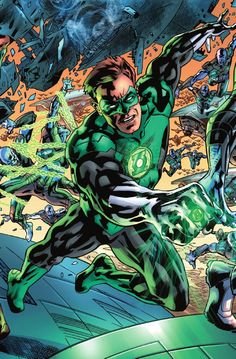 Justice League of America - Green Lantern by Bryan Hitch *
