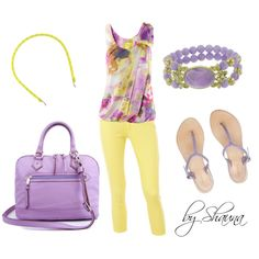 Lovely in Lilac, created by shauna-rogers on Polyvore
