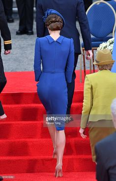 Catherine, Duchess of Cambridge attends the Official Welcome Ceremony for the Royal Tour at the British Columbia Legislature on September 24, 2016 in Victoria, Canada.  (Photo by Karwai Tang/WireImage)