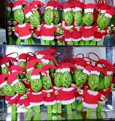 Grinch ornaments!                                                       …