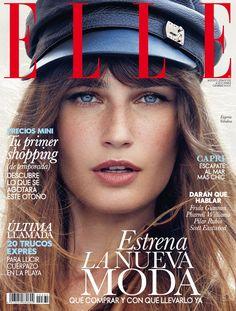 eugenia volodina xavi gordo shoot6 Eugenia Volodina is Gucci Glam for Elle Spain by Xavi Gordo