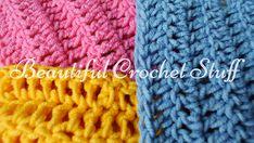 3 Ways To Make A Double Crochet Stitch by Jane Green of Beautiful Crochet Stuff