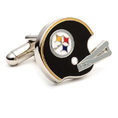 88fa07336 Pittsburgh Steelers Retro NFL Helmet Executive Cufflinks - Set of 2 with Box  Pittsburgh Steelers Helmet
