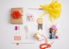 sugar lander: birthday in a box DIY
