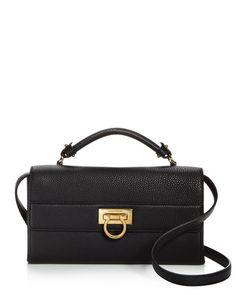 97ec915c205 Salvatore Ferragamo Ably Leather Shoulder Bag Salvatore Ferragamo -  Bloomingdale s