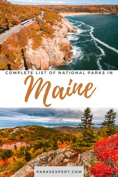 The four national parks in Maine are a great destination for outdoor enthusiasts and history buffs alike! Explore each one on The Parks Expert. Travel Articles, Travel Tips, Travel Destinations, List Of National Parks, Honeymoon Tips, Will You Go, Outdoor Woman, Get Outside, Usa Travel