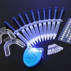 Equipo Dental blanqueamiento de dientes 44% de peróxido de sistema Kit Gel Oral blanqueador de dientes