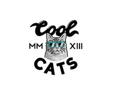 COOL-CATS-Typography-logo
