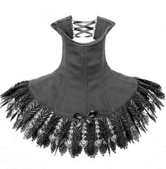 stunning neck corset with lace <3