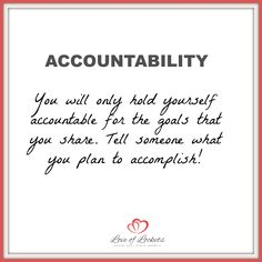 Set SMART goals to reach your dreams! When you are in business for yourself you are accountable to you! Share with others and the universe to help hold you accountable!