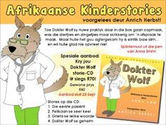 Video voorbeelde | Anna Emm Afrikaanse Kinderstories Winnie The Pooh, Disney Characters, Fictional Characters, Wolf, Anna, Family Guy, Crochet, Do Your Thing, Winnie The Pooh Ears