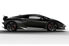 Lamborghini Sesto Side View Concept