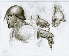 orc anf elf sketches by BrokenMachine86 on DeviantArt