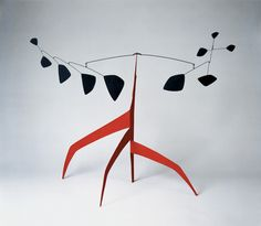 Calder - Southern Cross [Maquette], 1963 Sheet metal, wire, and paint Calder Foundation, NY A01176.1